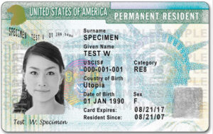 expired green card