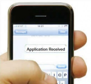 how to renew a green card text notification