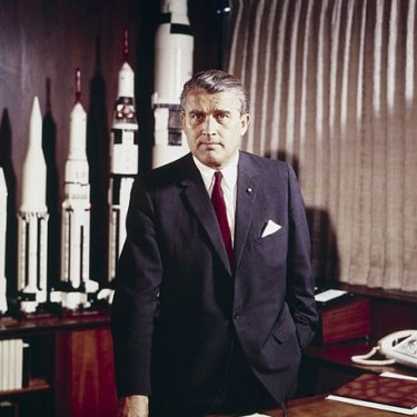 Wernher Von Braun, German American immigrant engineer and historically significant immigrant birthday in March