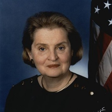 Madeleine Albright, Czechoslovakian American immigrant