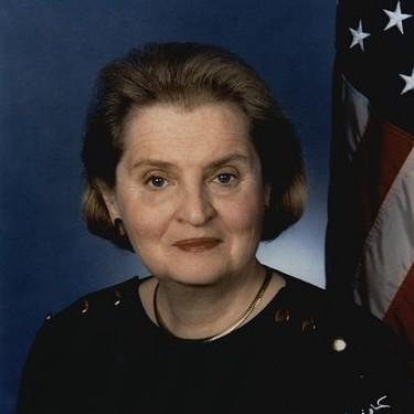 Madeleine Albright, Czechoslovakian American immigrant