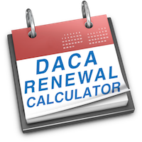 when to renew DACA Renewal Calculator