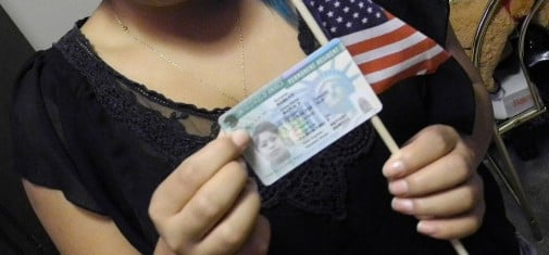 renew green card on 14th birthday