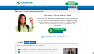 how to renew a green card