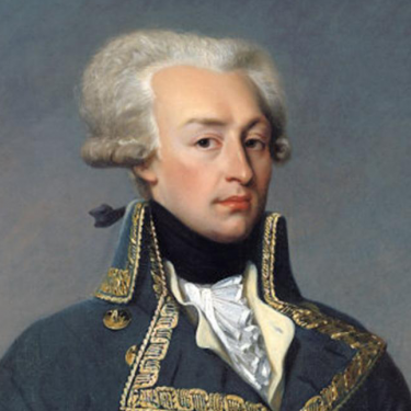Gilbert du Motier de La Fayette, Marquis de La Fayette honorary US citizen from France