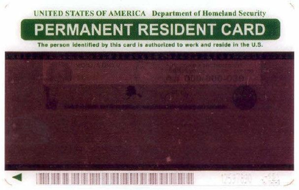 Green Card from 1997-2010, i-551