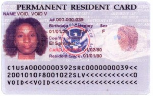 history of the green card permanent resident card i-551