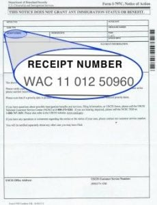 how to read a uscis receipt number