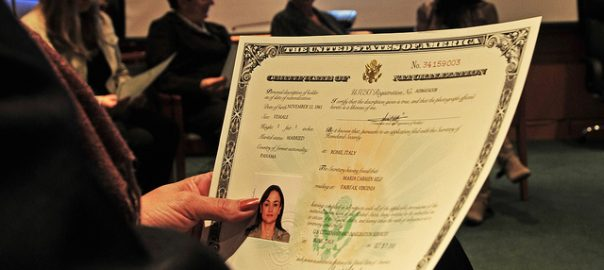 what happens after filing n-400 certificate of citizenship