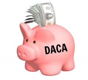 how to pay for daca costs