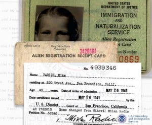 ar-2 immigration record sample