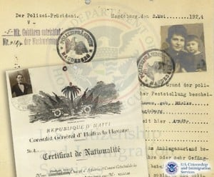 historical search for visas from family members
