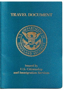 international green card travel with re-entry Permit