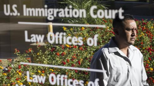 Man searches for an immigration attorney