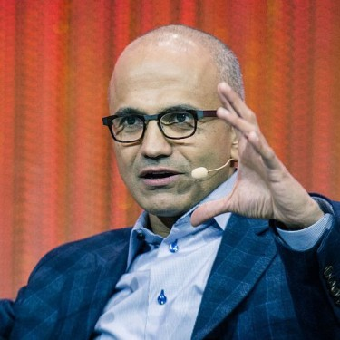 Satya Nadella Indian American Immigrant, one of several famous immigrant birthdays in January