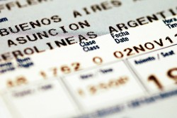 Use a boarding pass to prove good faith marriage