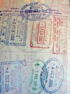 green card travel with passport