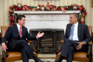 Obama and Nieto discuss immigration enforcement policy