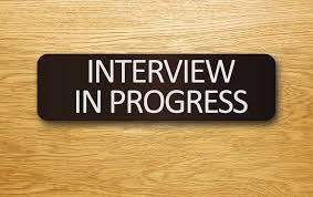 I-751 interview in progress sign