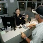 CBP inspects reentry permit of permanent resident