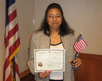 successful applicant after meeting residency requirements for u.s. citizenship