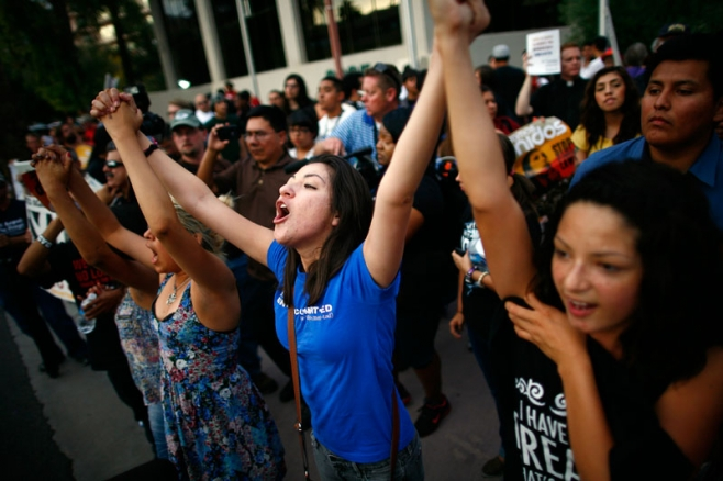 celebrations after DACA ruling