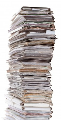 Tall stack of applications lost at uscis