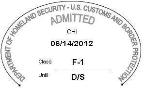 i-94 arrival departure stamp