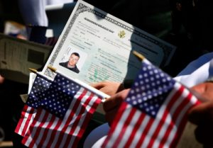 becoming a us citizen after naturalization interview