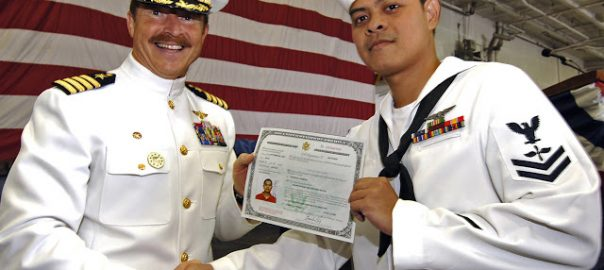 citizenship requirements for us armed forces military