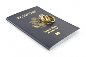 passport via fiancé visa or marriage visa