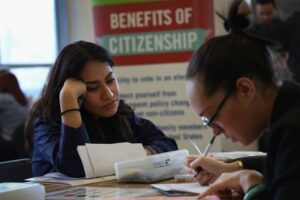 Filling Out the Application for U.S. Citizenship
