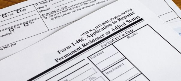 Form I-485 Application to Adjust Status