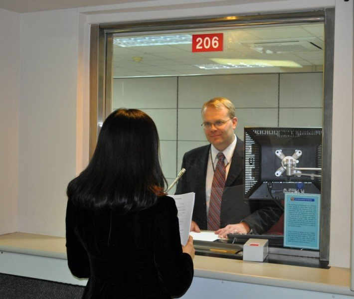 consular interview at us embassy