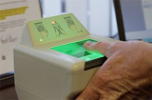 biometrics screening for naturalization process