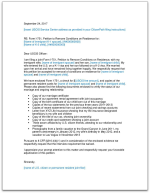 Sample I 751 Cover Letter To Submit With Petition