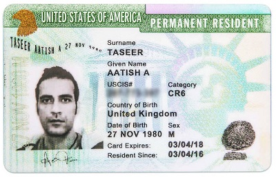conditional green card with cr6 category
