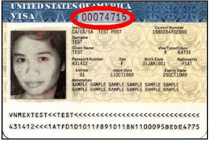 finding us visa number