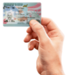 permanent resident holding green card