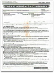 appointment notice for adjustment of status interview