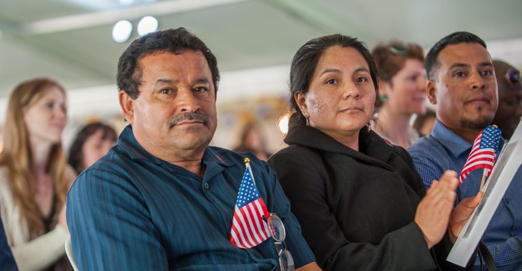 naturalization ceremony, pathway to the naturalization process