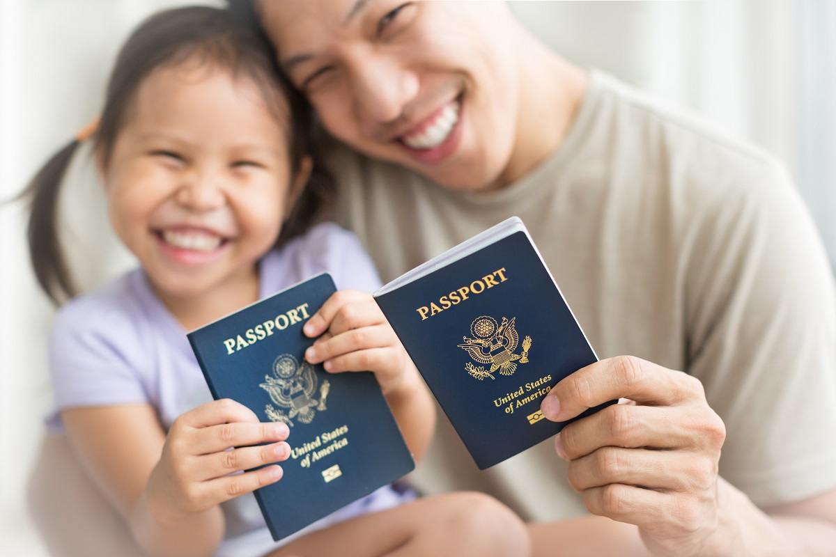 proof of parent's citizenship for N-600