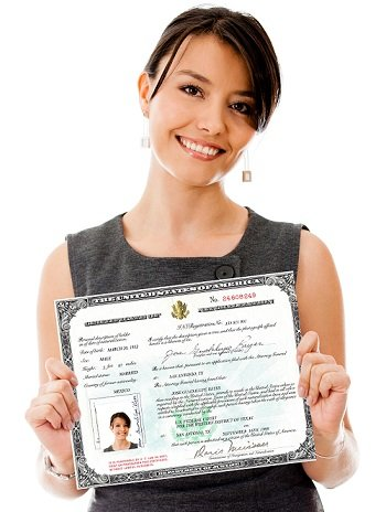 N600 Form to apply for a Certificate of Citizenship, proof of U.S. citizenship