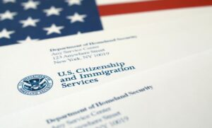 uscis request for evidence letter and envelope