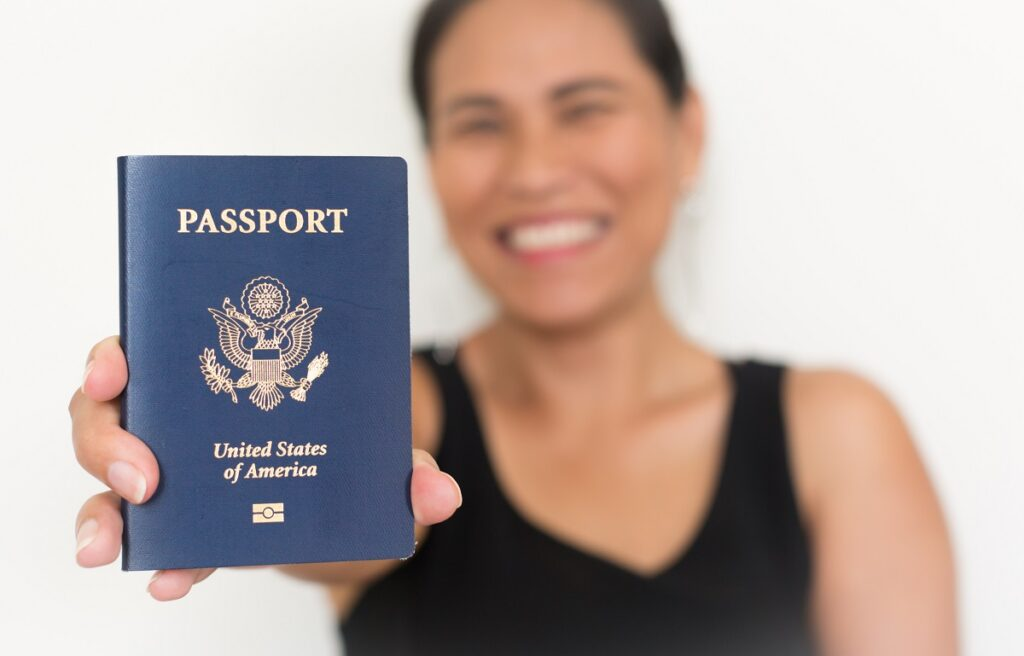Persons Who Apply for a U.S. Passport the First Time