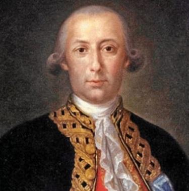 Bernardo de Gálvez, honorary U.S. citizen from spain