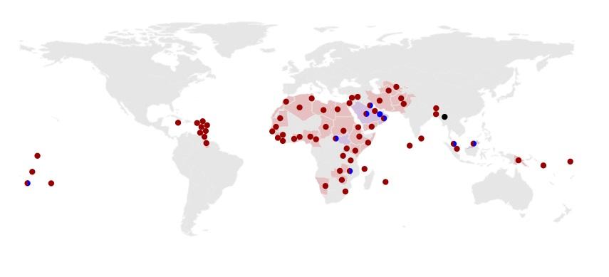 Anti-LGBTQ Laws Map
