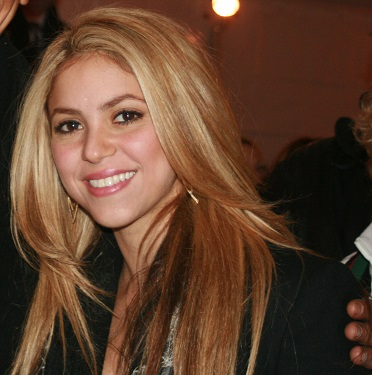 Shakira, Columbian American immigrant, one of several famous immigrant birthdays in February