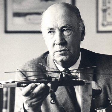 Igor Sikorsky, Russian American immigrant