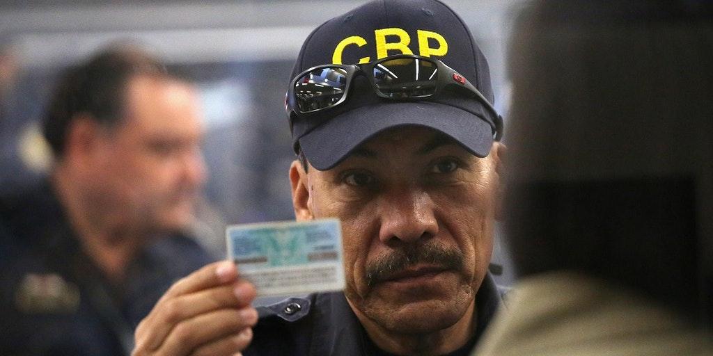 CBP officer holds expired green card